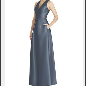 Alfred Sung D747 bridesmaid dress